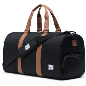 Herschel Novel Mid-Volume Duffle, black/saddle brown